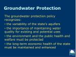 groundwater protection1