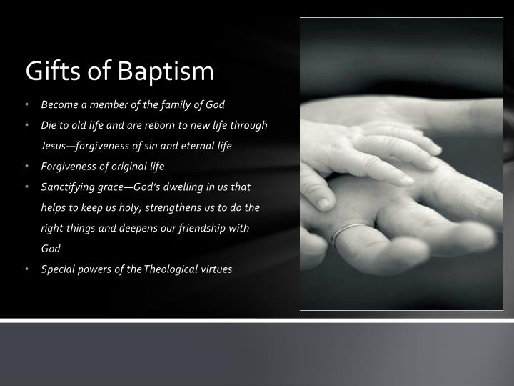 Gifts of baptism1