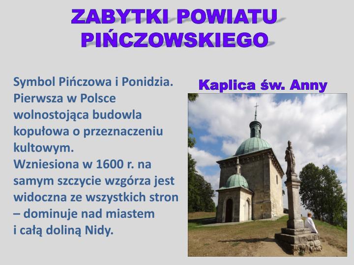 Zabytki powiatu pi czowskiego