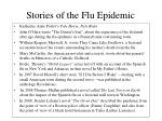 stories of the flu epidemic