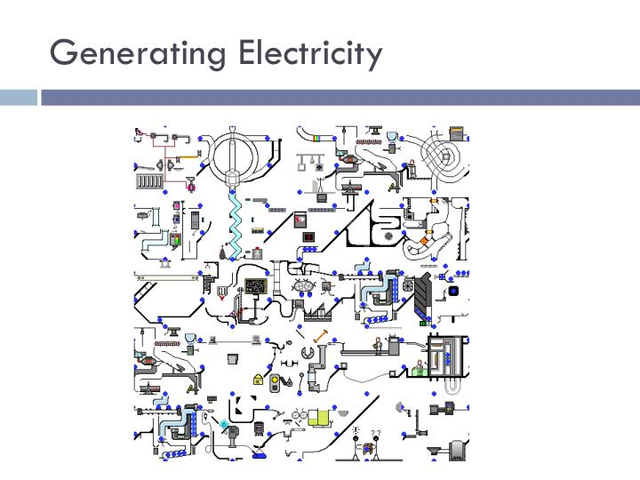 generating electricity n.