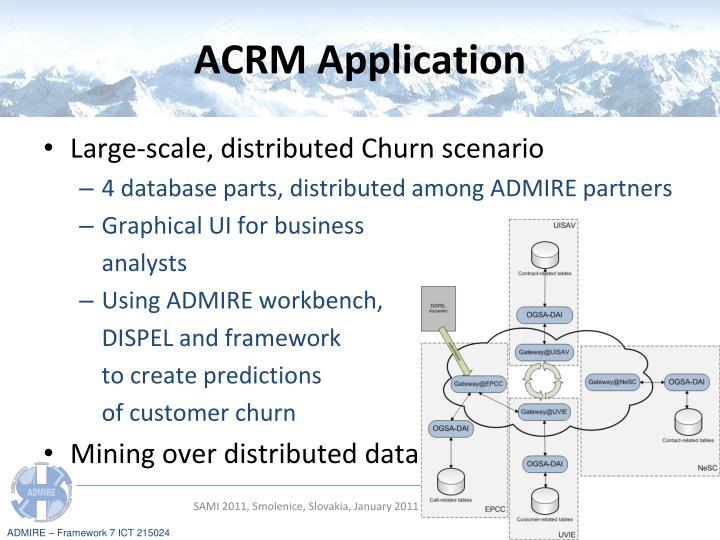 ACRM Application