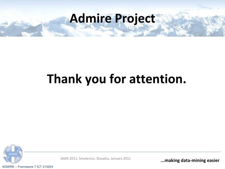 Admire Project