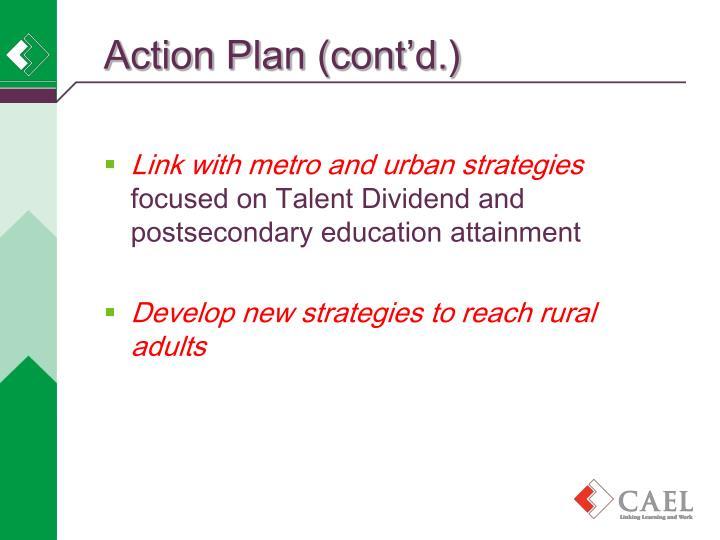 Action Plan (cont'd.)