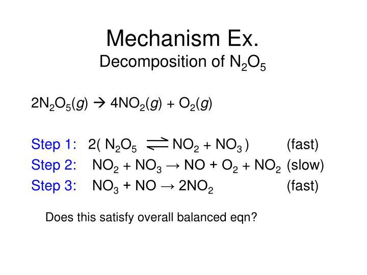 Mechanism Ex.