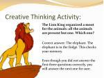 creative thinking activity2