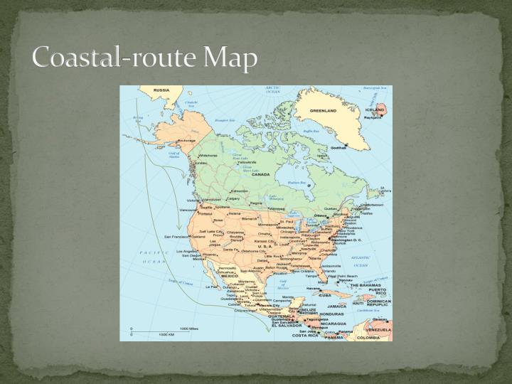 Coastal-route Map