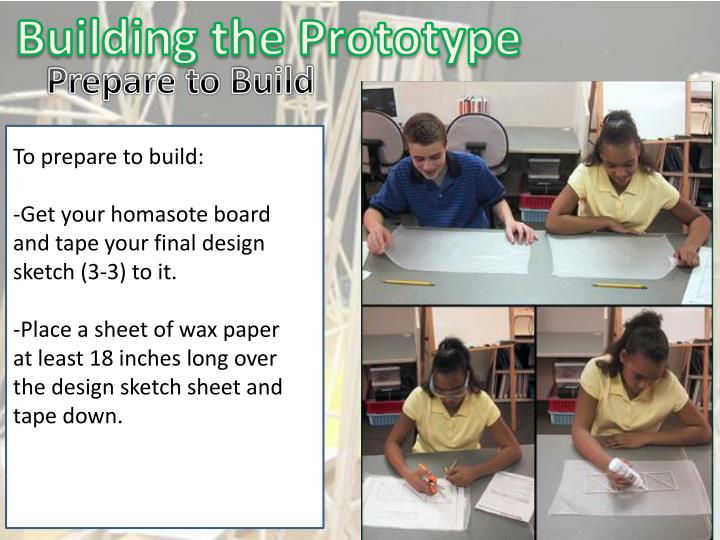 Building the Prototype
