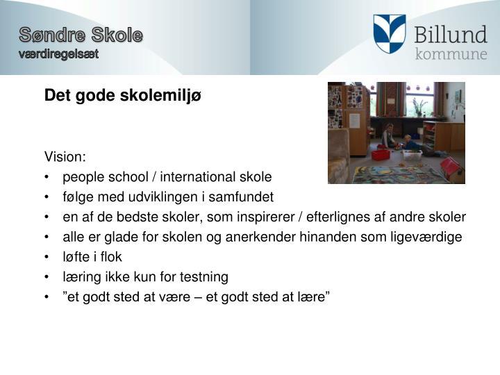 Det gode skolemiljø
