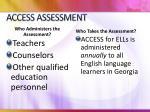 access assessment1