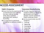 access assessment3