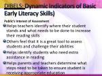 dibels dynamic indicators of basic early literacy skills2