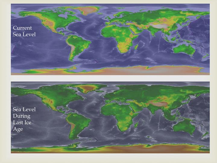 Current Sea Level
