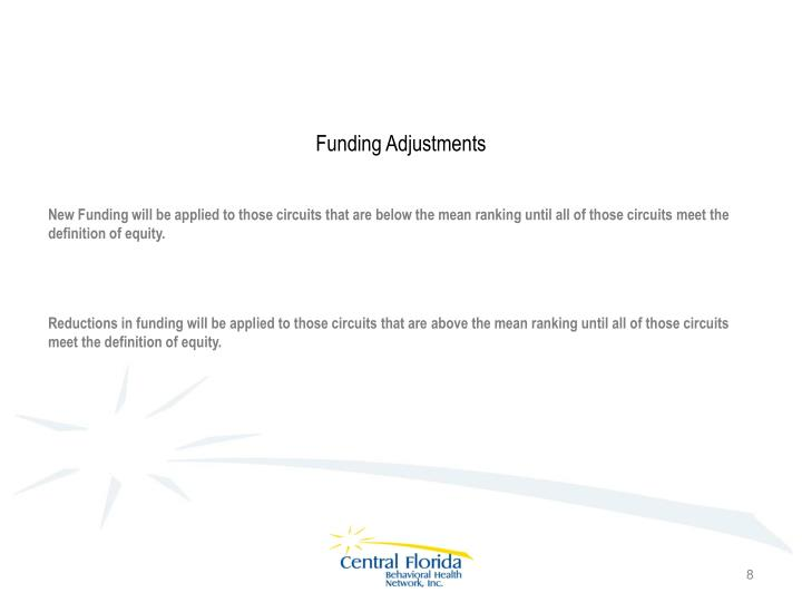 Funding Adjustments