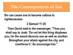 the consequences of sin7