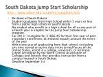south dakota jump start scholarship