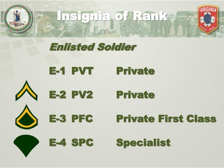 Insignia of Rank