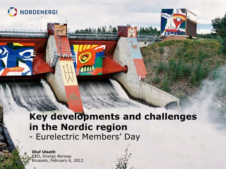 key developments and challenges in the nordic region n.