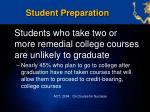 student preparation1