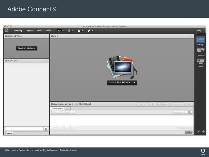 Adobe Connect 9