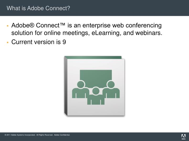 What is adobe connect