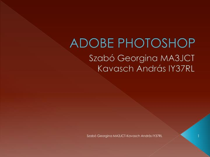 adobe photoshop n.