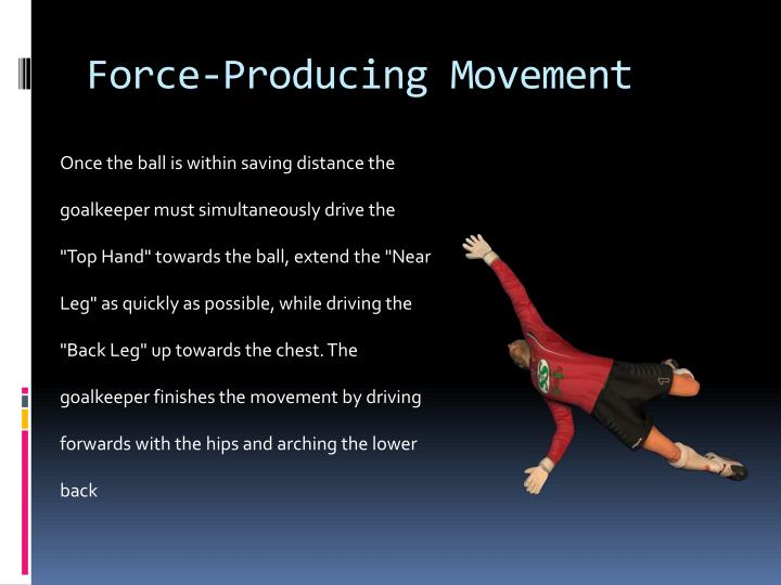 Force-Producing Movement