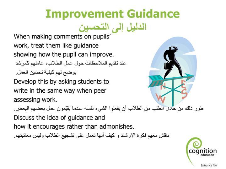 Improvement Guidance