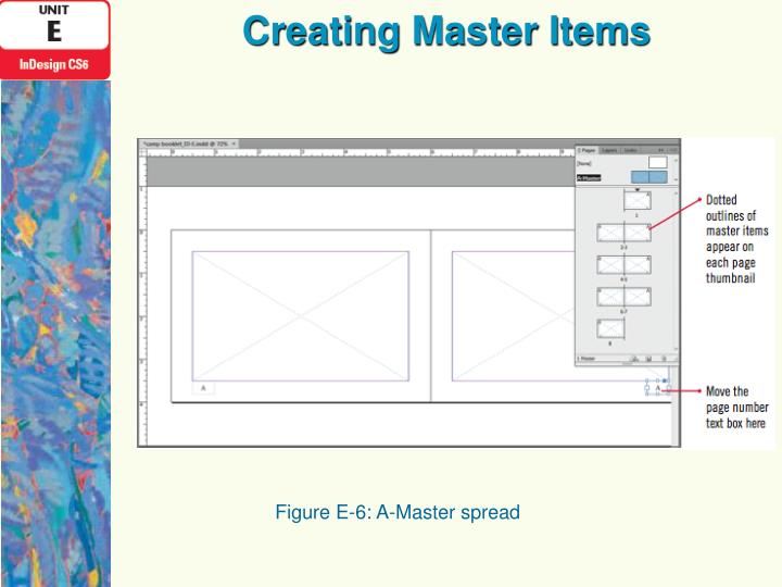 Creating Master Items