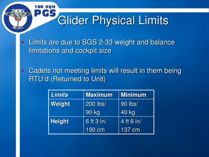 Glider Physical