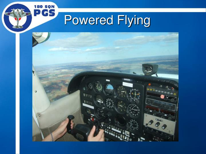 Powered Flying