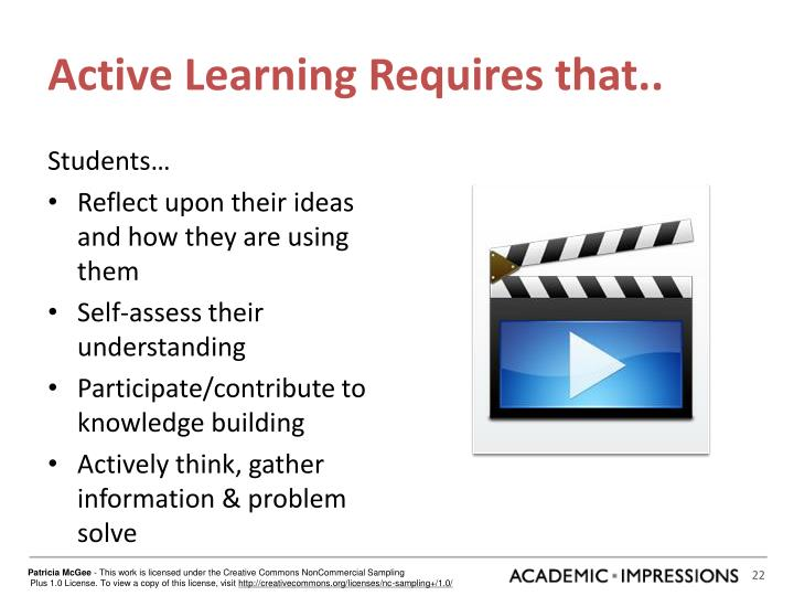 Active Learning Requires that..