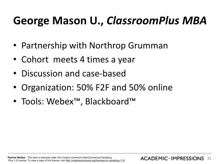George Mason U.,