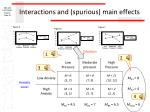 interactions and spurious main effects2