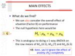 main effects2