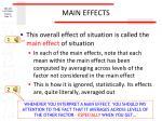 main effects3