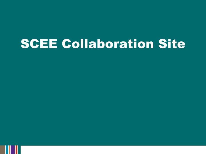 SCEE Collaboration Site