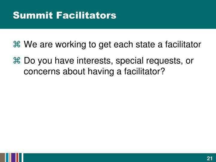 Summit Facilitators
