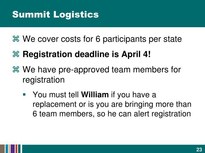 Summit Logistics