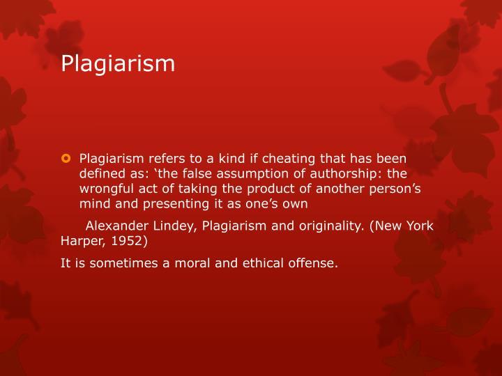 Plagiarism1