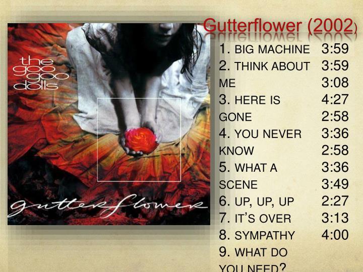 Gutterflower (2002