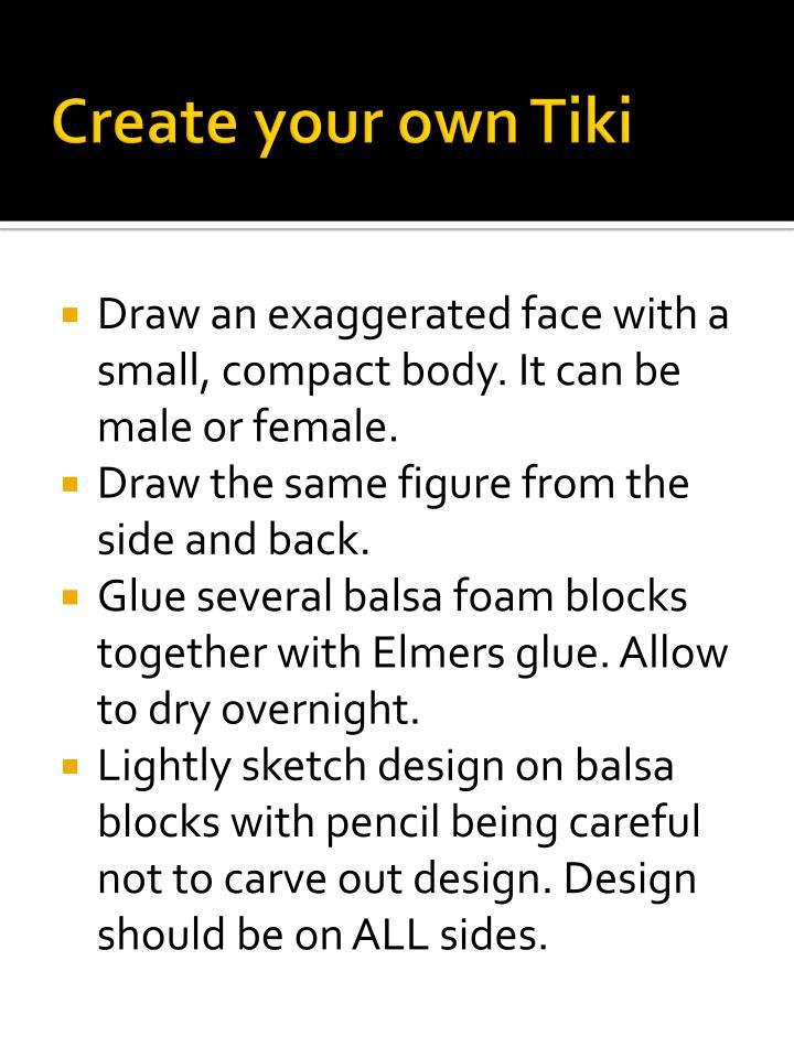 Create your own Tiki