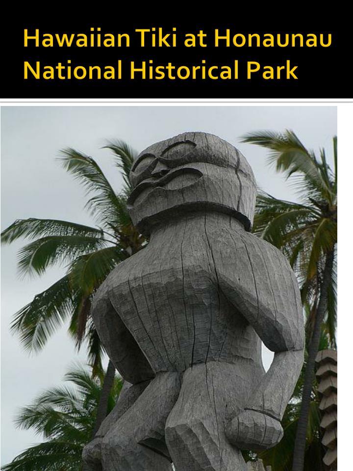 Hawaiian Tiki at Honaunau National Historical Park