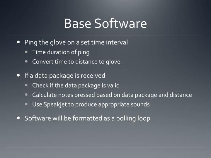 Base Software