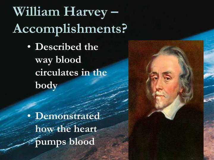 William Harvey – Accomplishments?