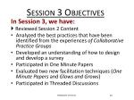 session 3 objectives1