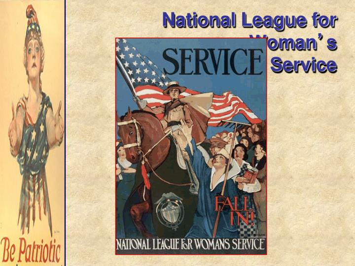 National League for Woman