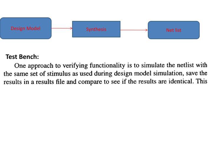 Test Bench:
