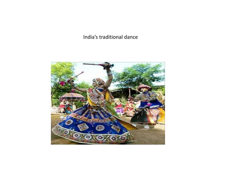 india s traditional dance n.