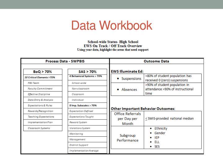 Data Workbook